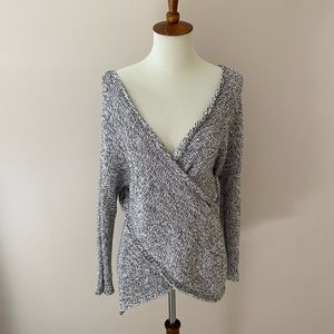 Urban Outfitters Kimchi Blue knitted wrap sweater